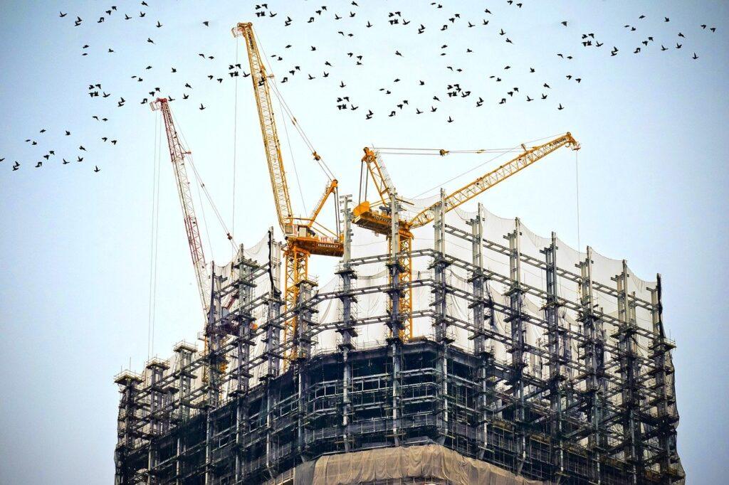 time lapse construction video