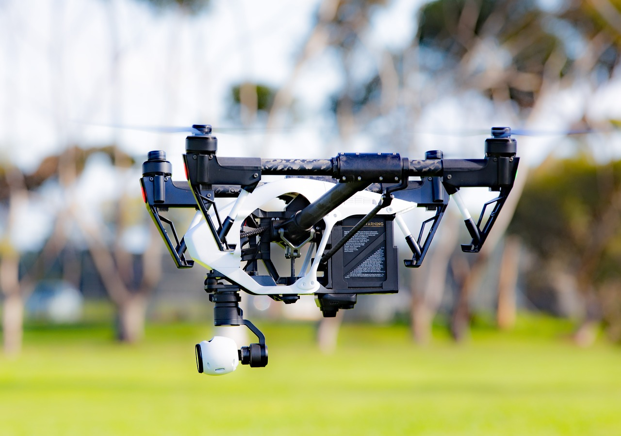 drone, aerial, technology